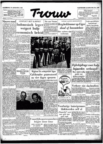 Trouw / De Rotterdammer 1957-08-10
