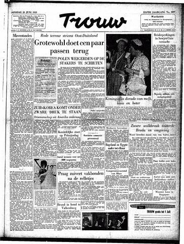 Trouw / De Rotterdammer 1953-06-23