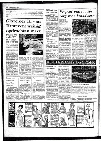 Rotterdamsch Parool / De Schiedammer 1968-07-31