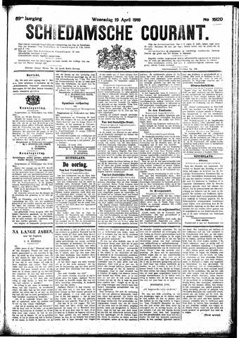 Schiedamsche Courant 1916-04-19