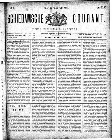 Schiedamsche Courant 1885-05-28
