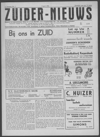 Zuider Nieuws 1962-04-05