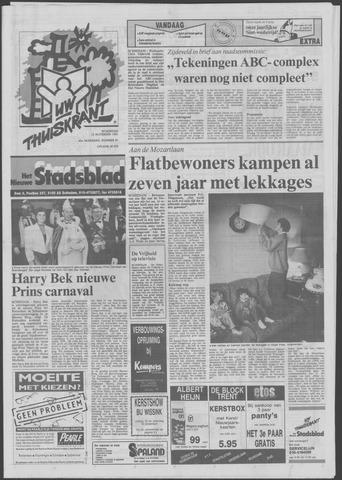 Het Nieuwe Stadsblad 1991-11-13