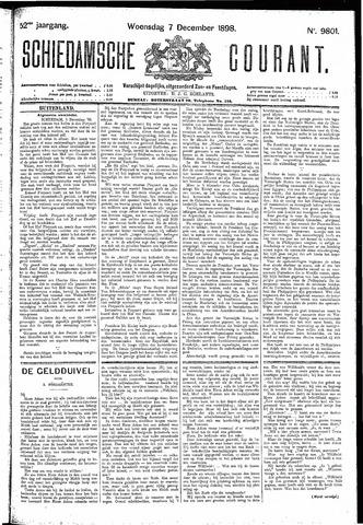 Schiedamsche Courant 1898-12-07