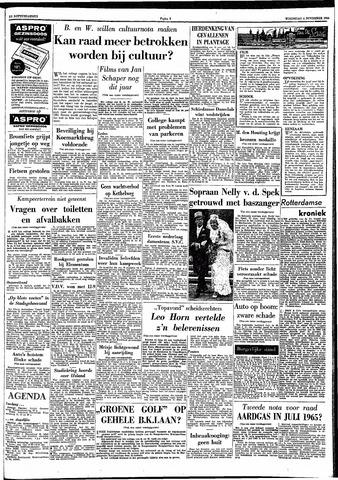 Trouw / De Rotterdammer 1964-11-04
