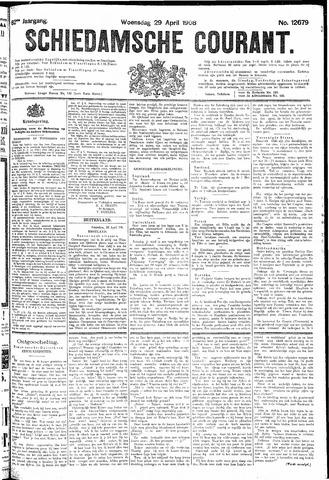 Schiedamsche Courant 1908-04-29