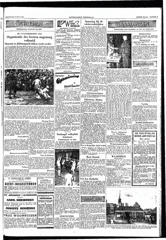 Rotterdamsch Nieuwsblad / Schiedamsche Courant / Rotterdams Dagblad / Waterweg / Algemeen Dagblad 1953-07-15