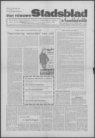 Het Nieuwe Stadsblad 1962-12-28