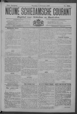 Nieuwe Schiedamsche Courant 1909-02-08