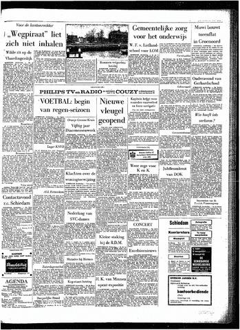 Rotterdamsch Parool / De Schiedammer 1963-11-21