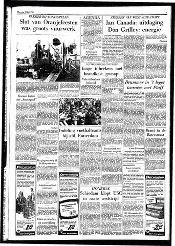 Rotterdamsch Parool / De Schiedammer 1961-07-24