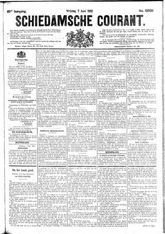 Schiedamsche Courant 1912-06-07