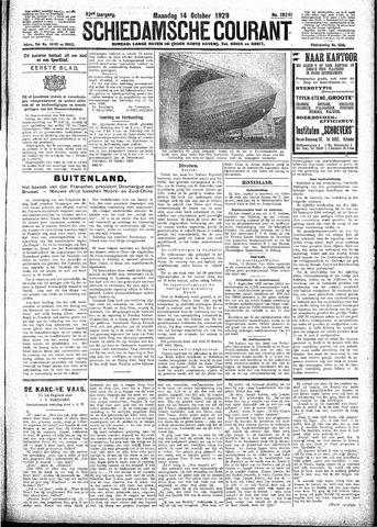 Schiedamsche Courant 1929-10-14
