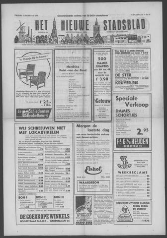 Het Nieuwe Stadsblad 1955-02-11