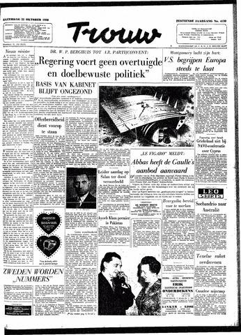 Trouw / De Rotterdammer 1958-10-25