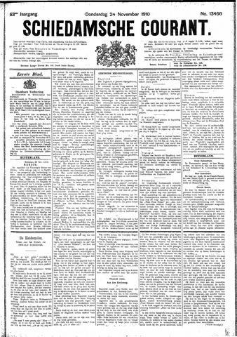 Schiedamsche Courant 1910-11-24