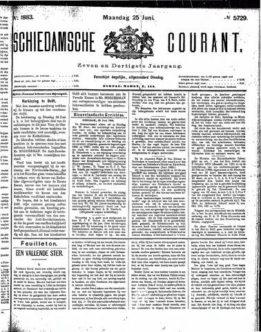 Schiedamsche Courant 1883-06-25