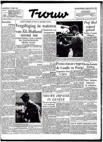 Trouw / De Rotterdammer 1959-05-13