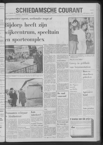 Rotterdamsch Nieuwsblad / Schiedamsche Courant / Rotterdams Dagblad / Waterweg / Algemeen Dagblad 1970-09-07
