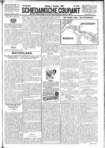 Schiedamsche Courant 1927-10-07