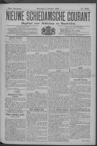 Nieuwe Schiedamsche Courant 1909-10-04
