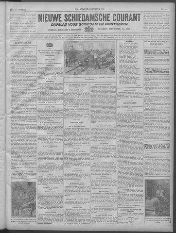 Nieuwe Schiedamsche Courant 1932-08-22