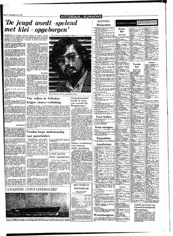 Rotterdamsch Parool / De Schiedammer 1970-12-05