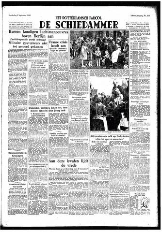 Rotterdamsch Parool / De Schiedammer 1948-09-09