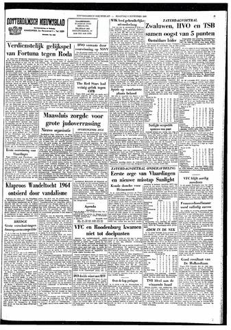 Rotterdamsch Nieuwsblad / Schiedamsche Courant / Rotterdams Dagblad / Waterweg / Algemeen Dagblad 1964-11-09