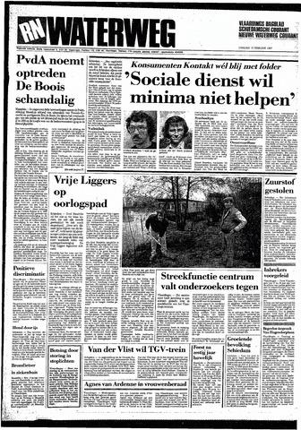 Rotterdamsch Nieuwsblad / Schiedamsche Courant / Rotterdams Dagblad / Waterweg / Algemeen Dagblad 1987-02-10
