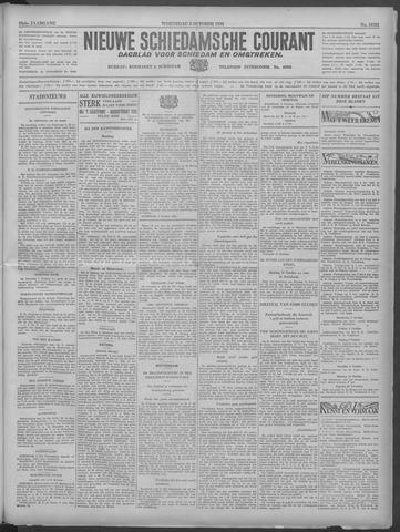 Nieuwe Schiedamsche Courant 1933-10-04