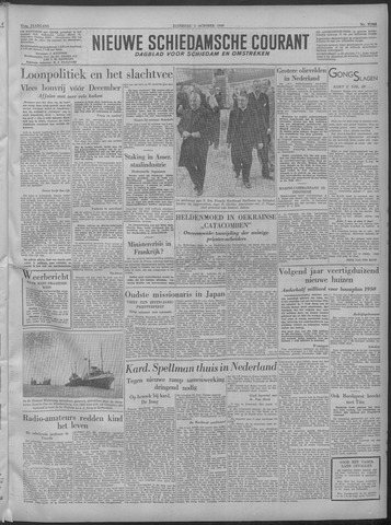 Nieuwe Schiedamsche Courant 1949-10-01