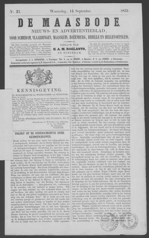 De Maasbode 1853-09-14