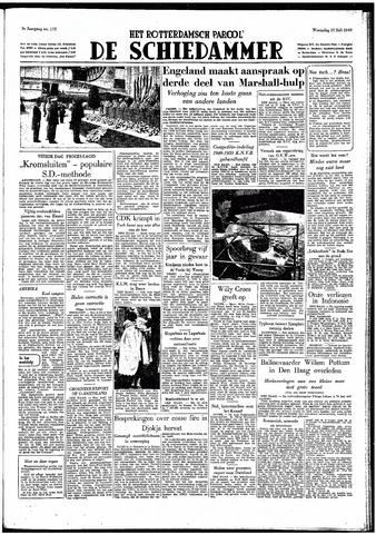 Rotterdamsch Parool / De Schiedammer 1949-07-27