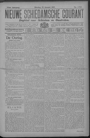 Nieuwe Schiedamsche Courant 1917-01-23