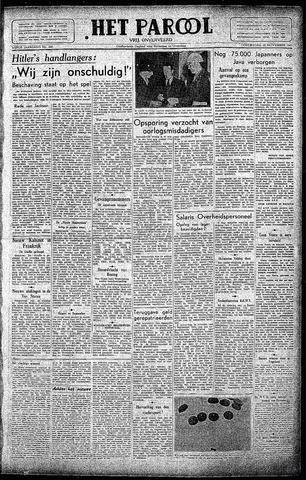 Rotterdamsch Parool / De Schiedammer 1945-11-22
