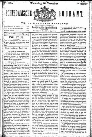 Schiedamsche Courant 1881-11-16