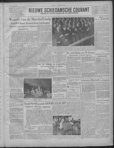 Nieuwe Schiedamsche Courant 1949-01-14