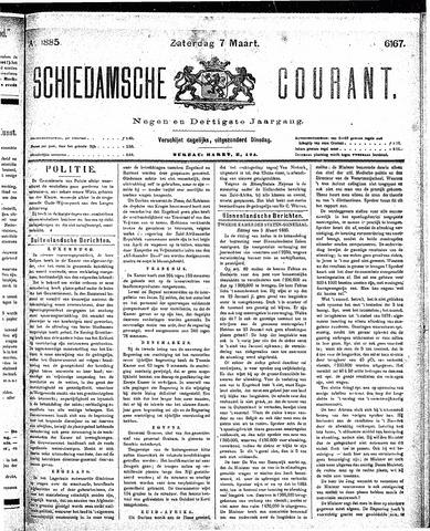 Schiedamsche Courant 1885-03-07