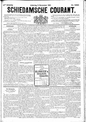 Schiedamsche Courant 1910-11-05