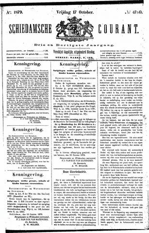 Schiedamsche Courant 1879-10-17