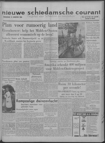 Nieuwe Schiedamsche Courant 1958-08-14