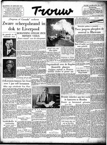 Trouw / De Rotterdammer 1953-01-26