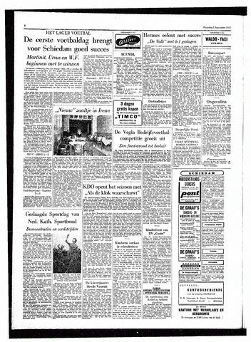 Rotterdamsch Parool / De Schiedammer 1955-09-05