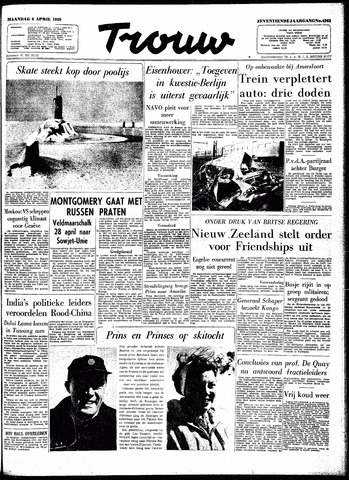 Trouw / De Rotterdammer 1959-04-06
