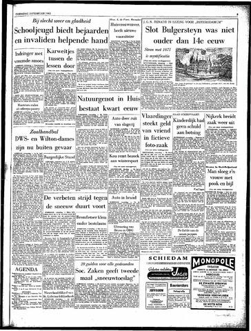 Rotterdamsch Parool / De Schiedammer 1963-02-13