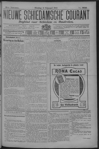 Nieuwe Schiedamsche Courant 1913-02-11