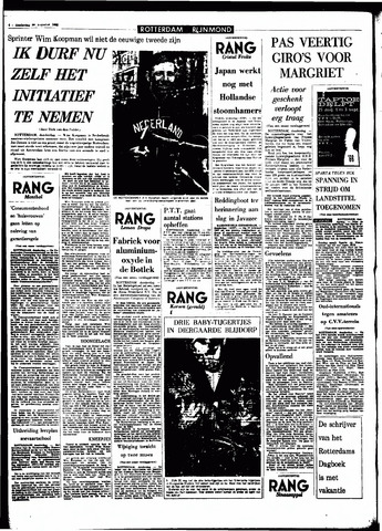 Rotterdamsch Parool / De Schiedammer 1966-08-25