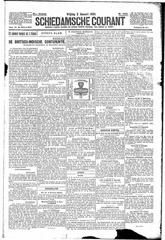 Schiedamsche Courant 1931-01-02
