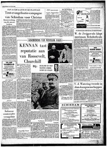 Rotterdamsch Parool / De Schiedammer 1962-06-13